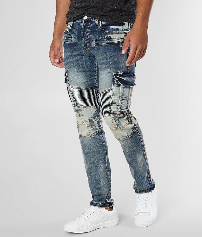 a38cadd5 DOPE Powell Moto Taper Stretch Jean - Men's Jeans in Powell | Buckle