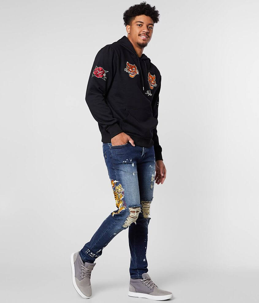 DOPE Tigris Taper Stretch Jean front view