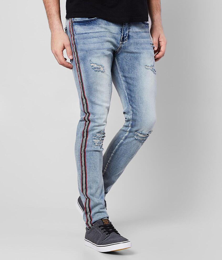 DOPE Academy Taper Stretch Jean front view