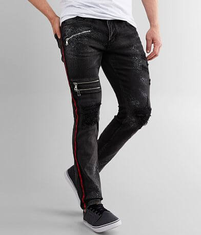 DOPE Night Spray Taper Stretch Jean