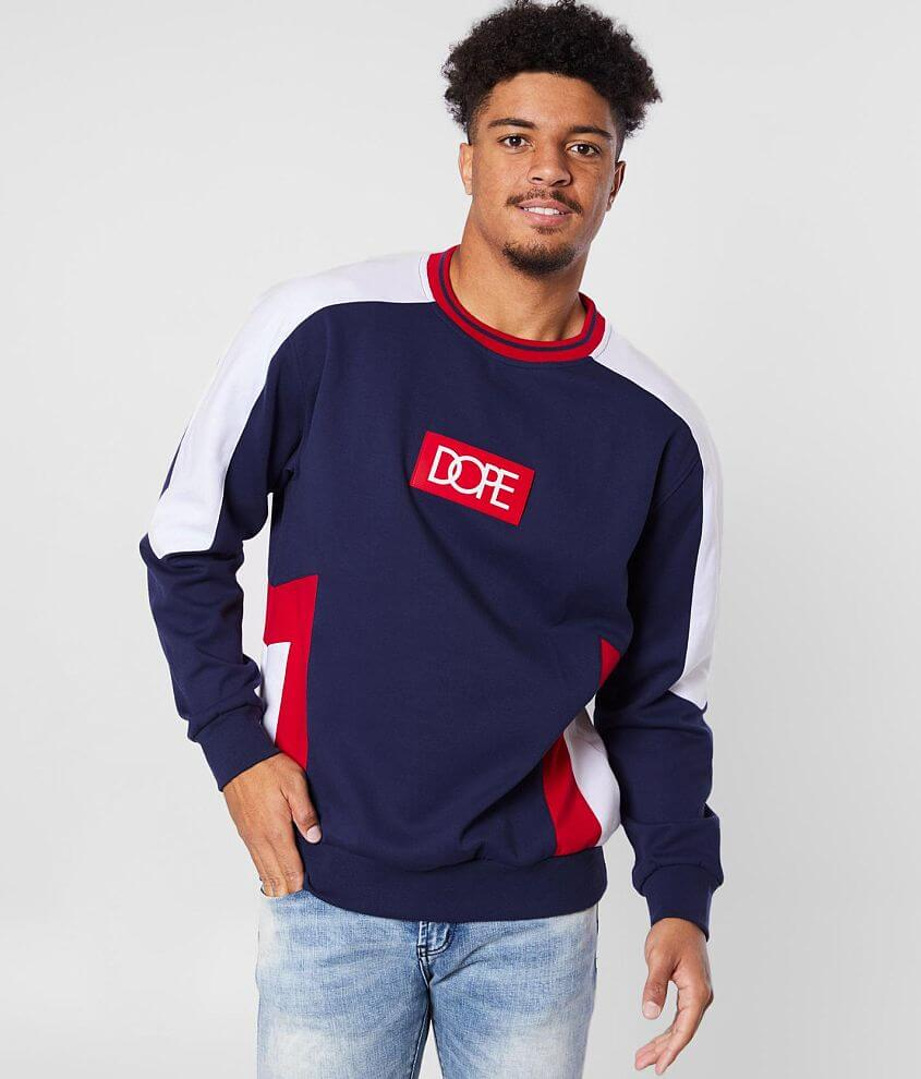 DOPE Sprinter Crew Neck Pullover front view
