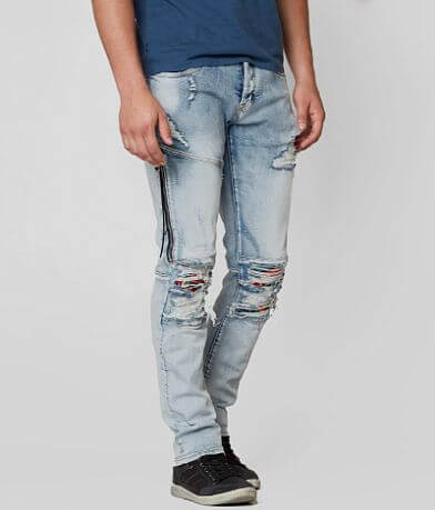 DOPE Roses Taper Stretch Jean