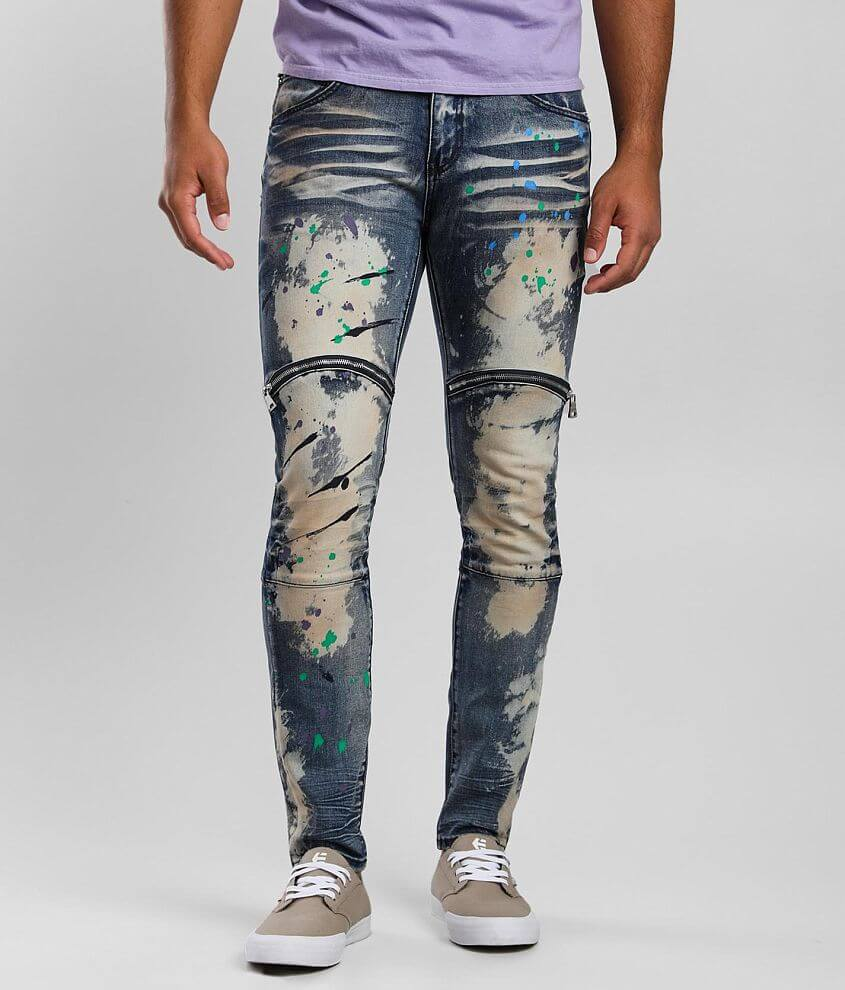 DOPE Joyride Taper Stretch Jean front view