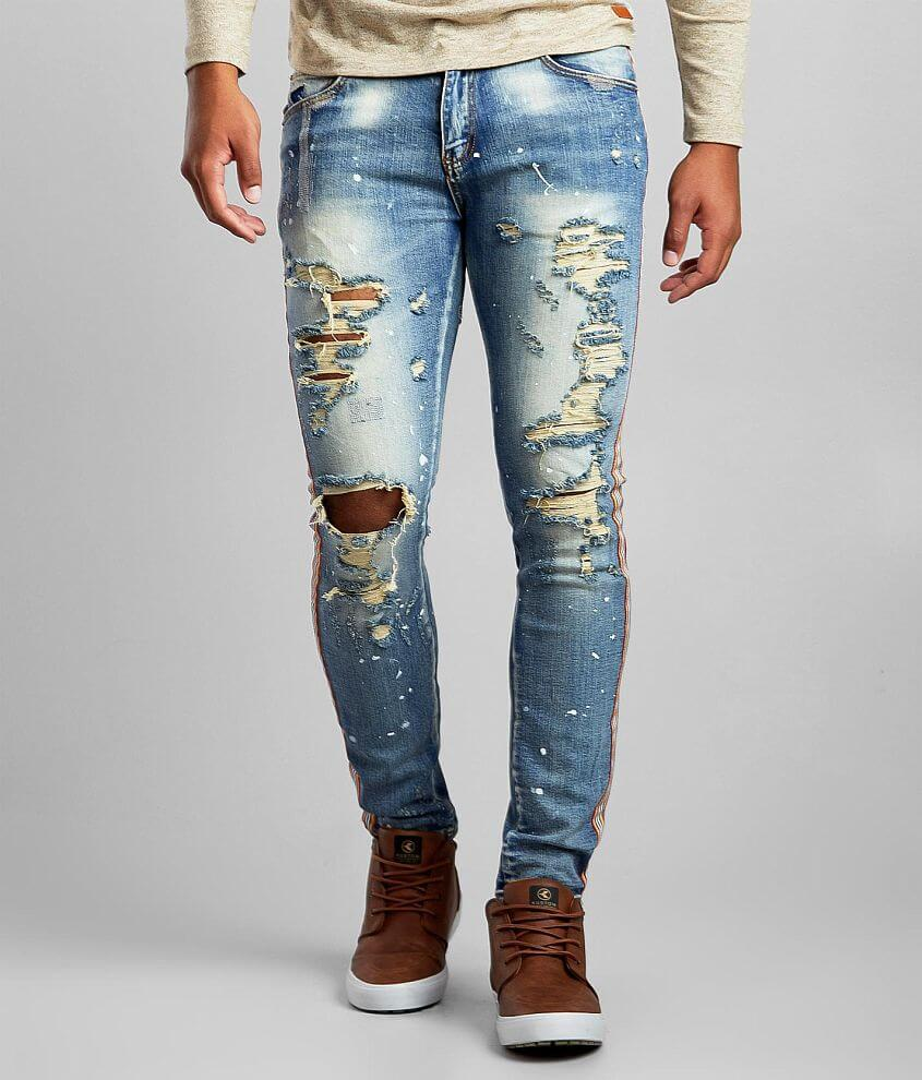 DOPE Fast Life Taper Stretch Jean front view