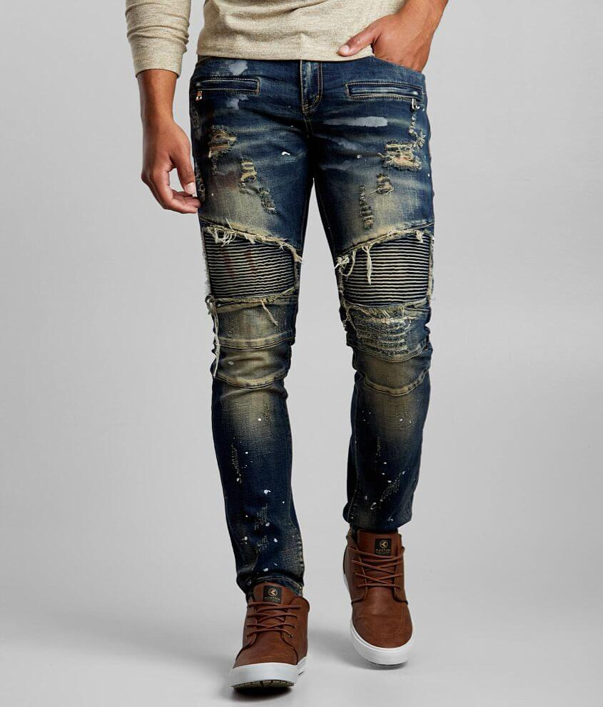 DOPE Havoc Taper Stretch Jean front view