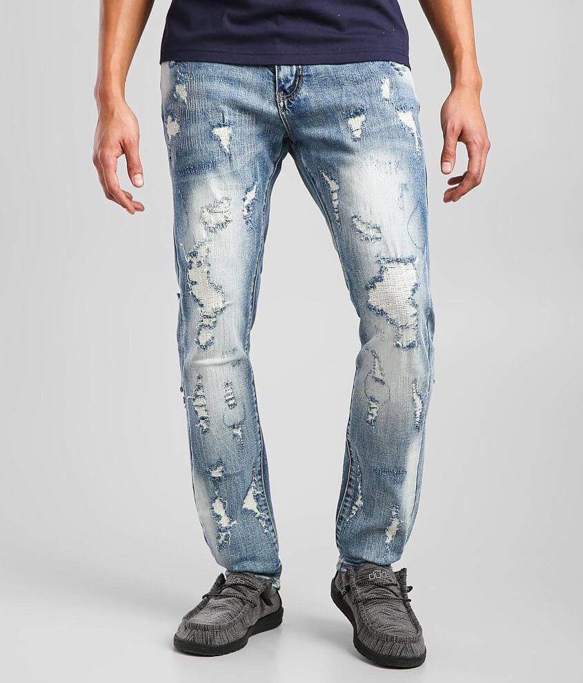 DOPE Barcus Taper Stretch Jean front view