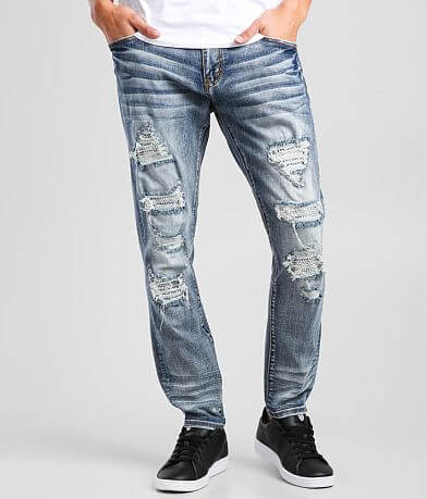 DOPE Wolf Taper Stretch Jean