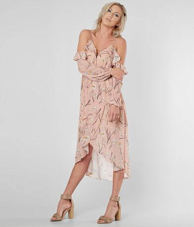 Daytrip Floral Surplice Maxi Dress