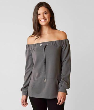 Essue Off The Shoulder Sweatshirt