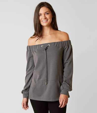 essue Off The Shoulder Sweatshirt