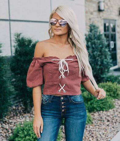 Essue Off The Shoulder Top