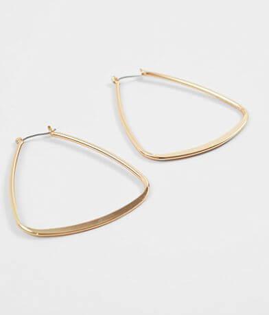 BKE Triangle Hoop Earring