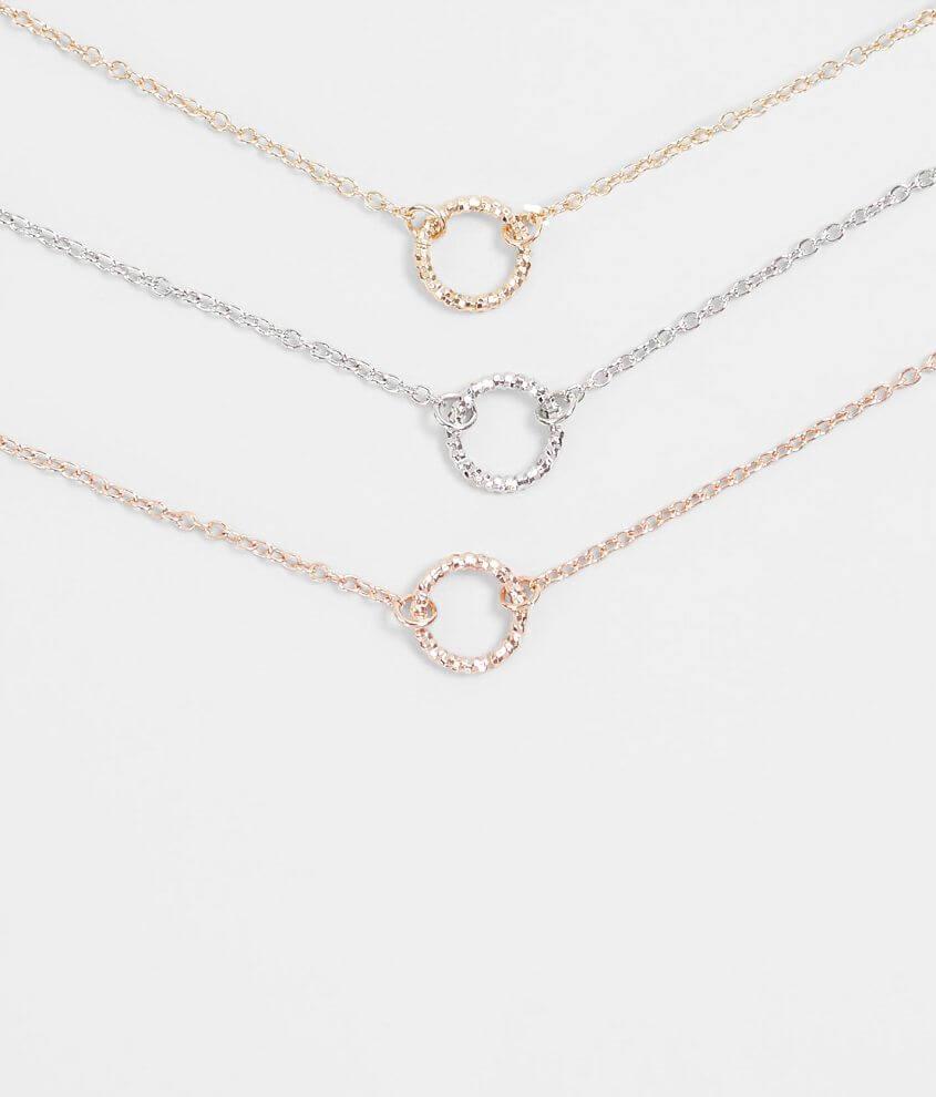 Bke Dainty Pendant Necklace Set Women S Jewelry In Gold Silver
