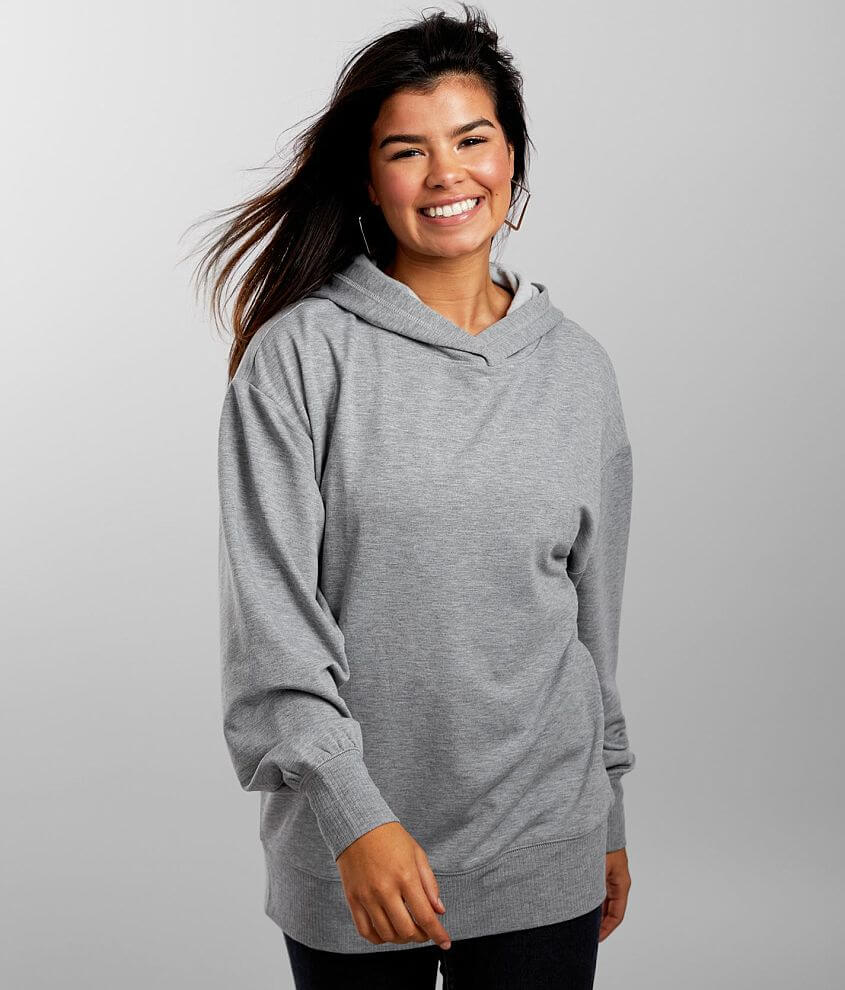 FITZ + EDDI Oversized Hoodie - One Size front view