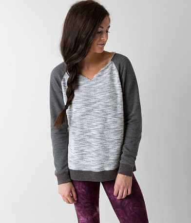 BKE lounge Raw Edge Sweatshirt