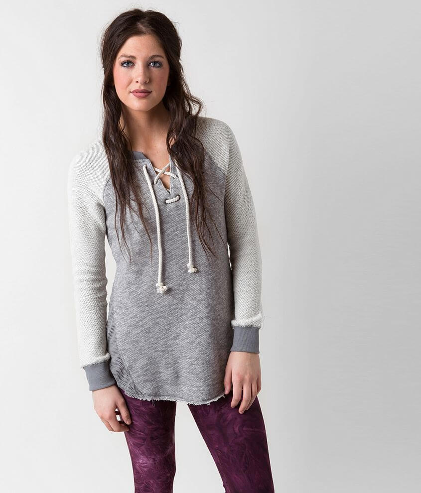 BKE lounge French Terry Sweatshirt front view