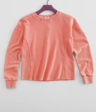Girls - BKE Washed Knit Pullover
