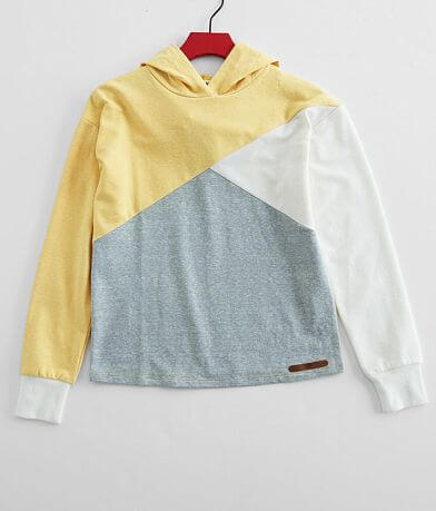 Girls - BKE Color Block Hoodie