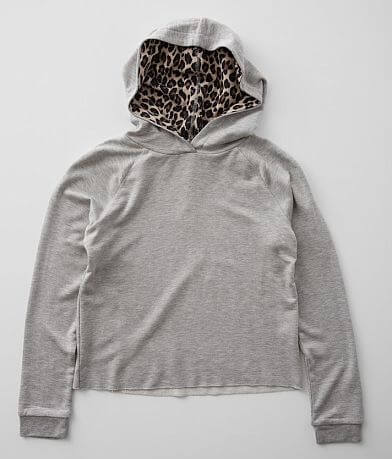 Girls- Daytrip Heathered Knit Hoodie
