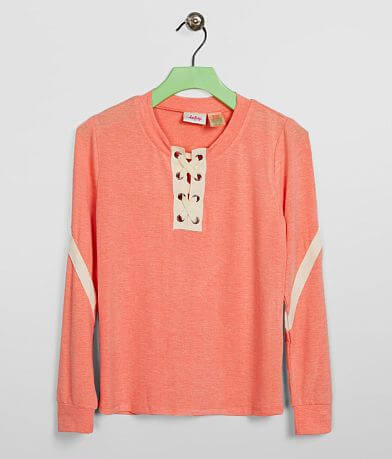 Girls - Daytrip Lace-Up Top