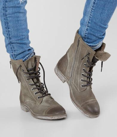 Roan Affair Leather Combat Boot