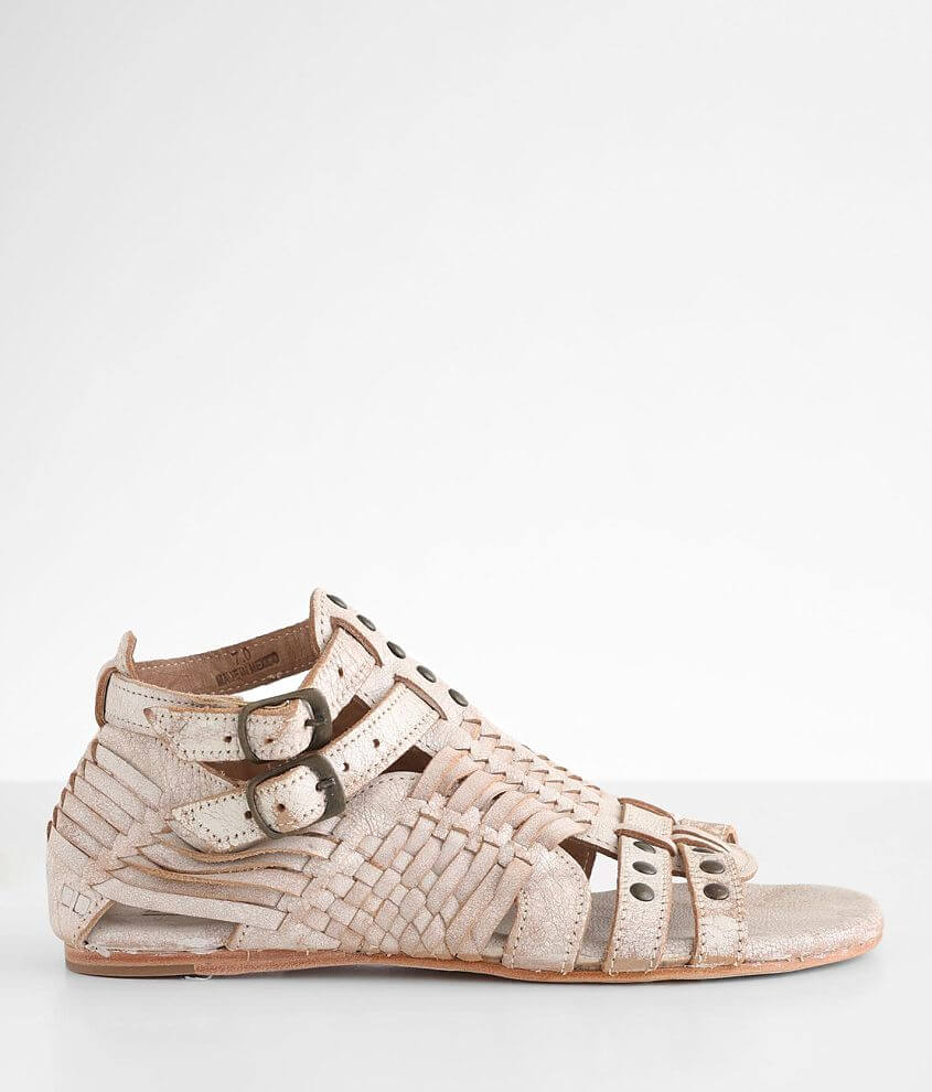 Bed Stu Claire Caged Leather Sandal front view
