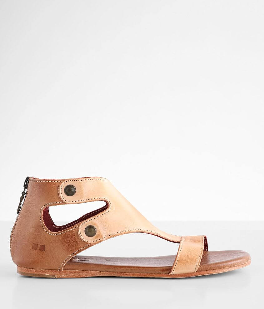Bed Stu Soto Leather Sandal front view