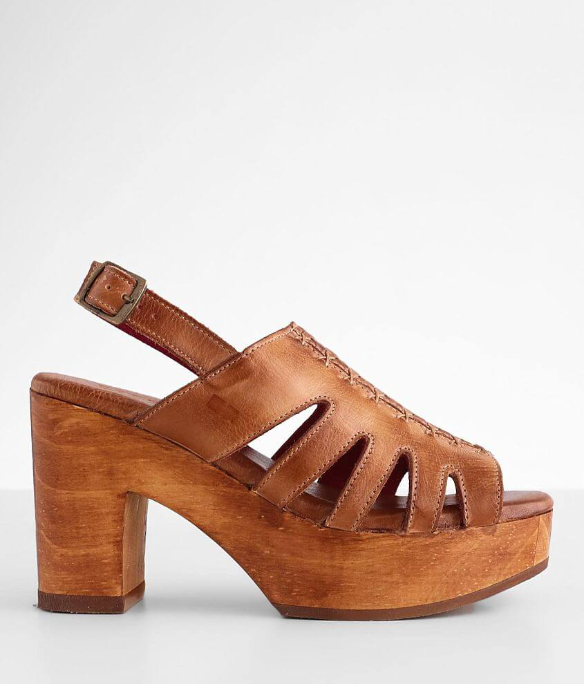 Bed Stu Fontella Heeled Leather Sandal front view