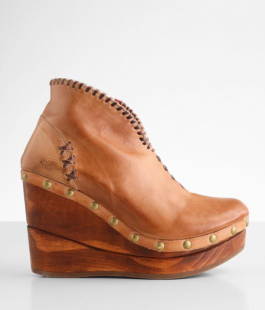 Bed Stu Marina Leather Wedge Boot front view