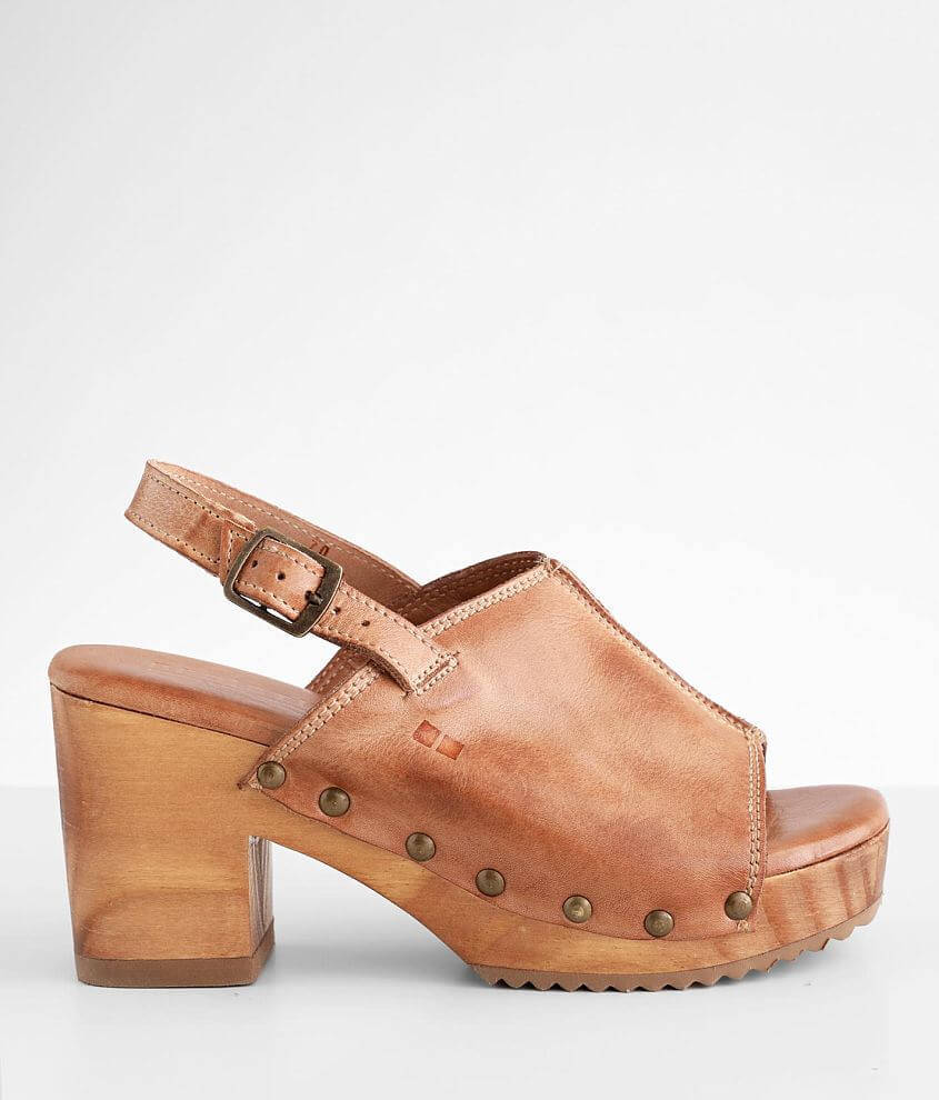 Bed Stu Marie Leather Heeled Sandal front view