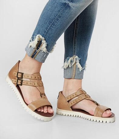 Roan Ibis Studded Leather Sandal