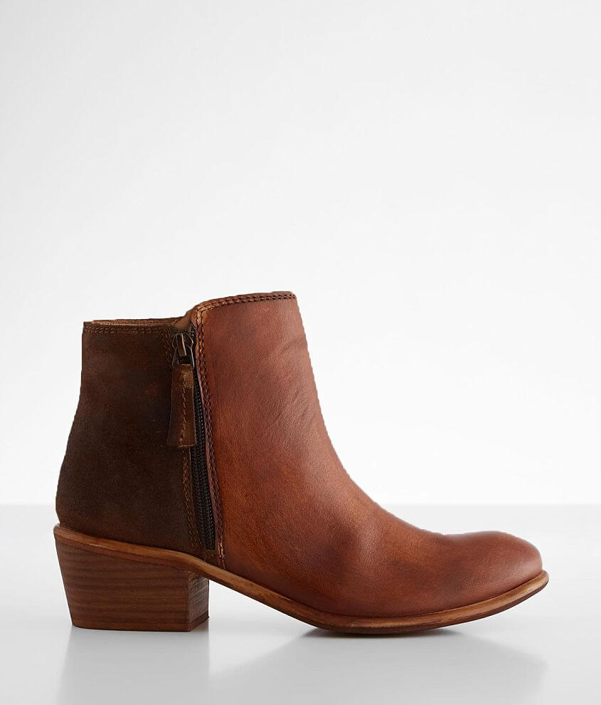 Roan by Bed Stu Liz Two Tone Leather Ankle Boot front view