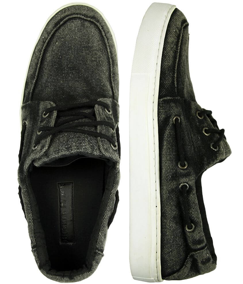 Buckle Black Midnight Rambler Boat Shoe front view