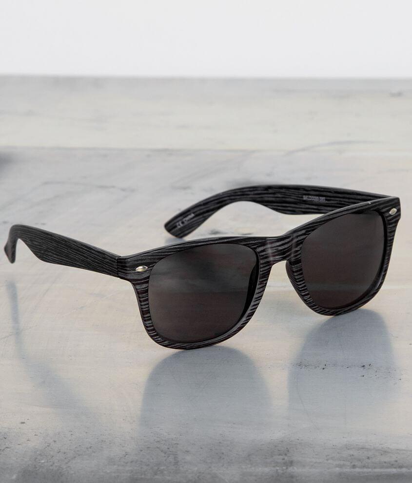 BKE Bali Wood Sunglasses front view