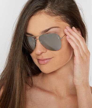 BKE Mirrored Aviator Sunglasses