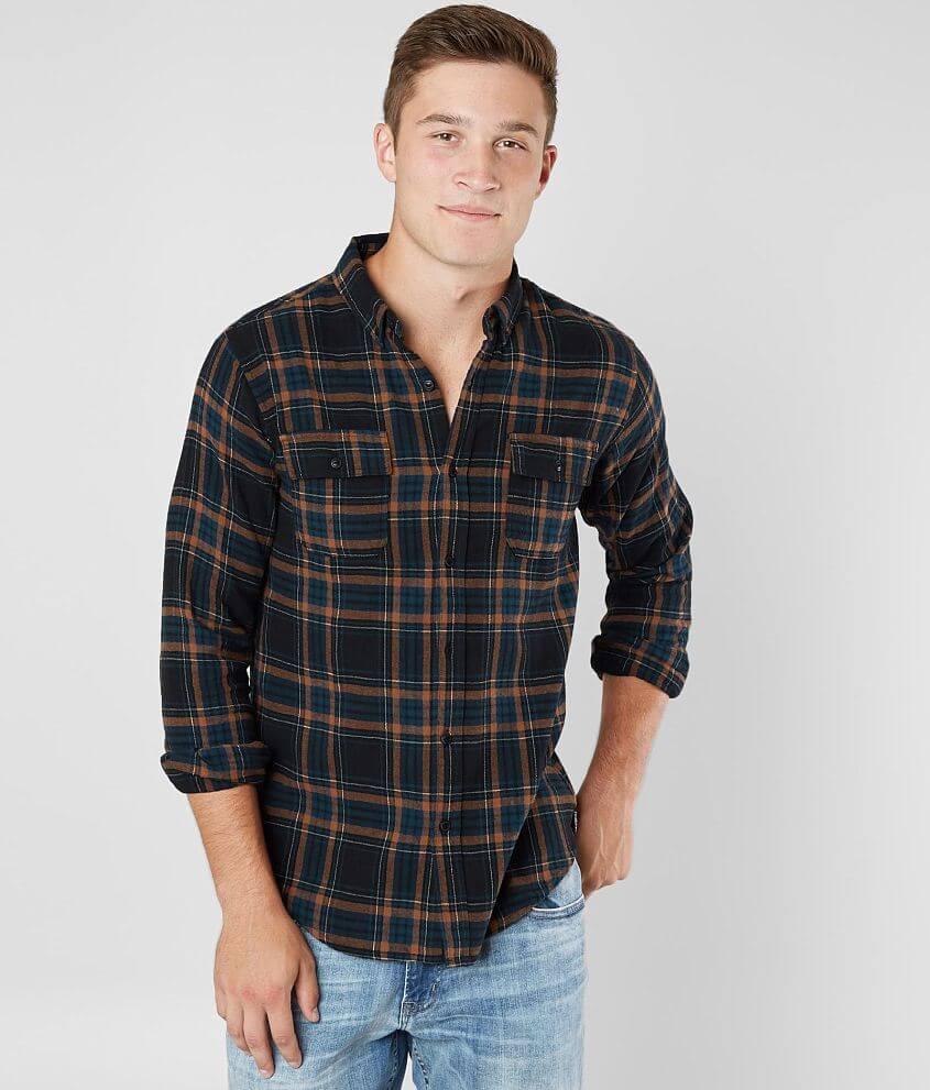 Ezekiel Maverick Flannel Shirt front view