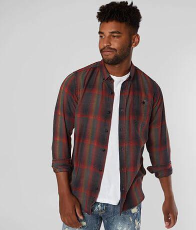 Ezekiel Gilded Woven Plaid Shirt