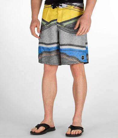 Ezekiel Striped Stretch Boardshort