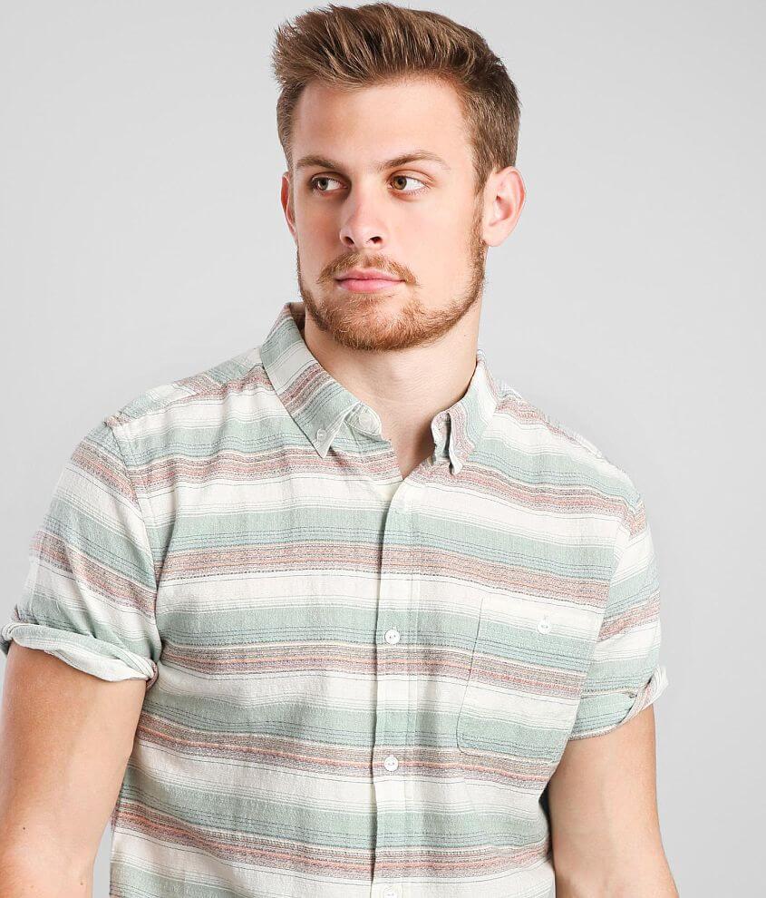 Ezekiel Hana Striped Shirt front view