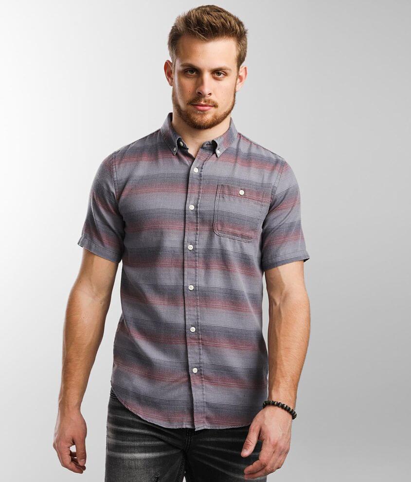 Ezekiel Ohana Striped Shirt front view