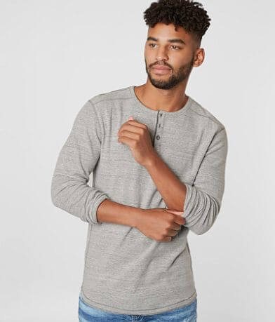 BKE Two Tone Thermal Henley