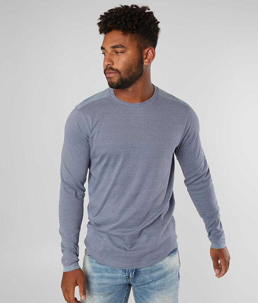 BKE Pieced Crew Neck T-Shirt front view