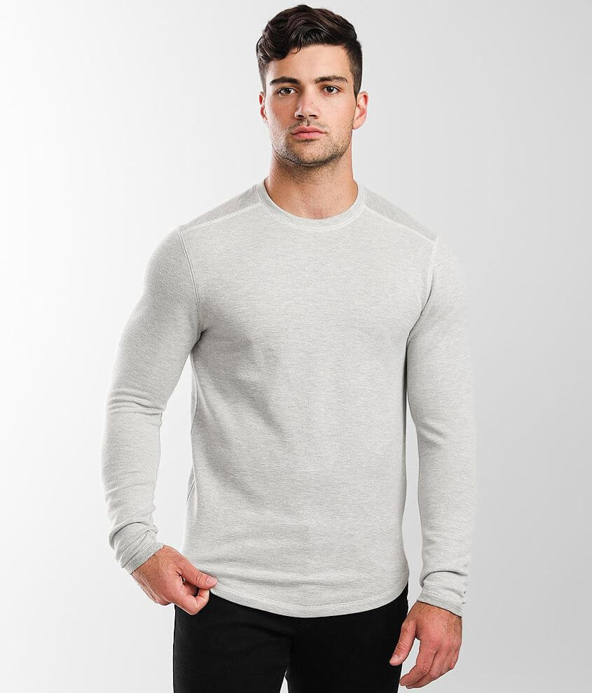 BKE Marled Crew Neck Pullover front view