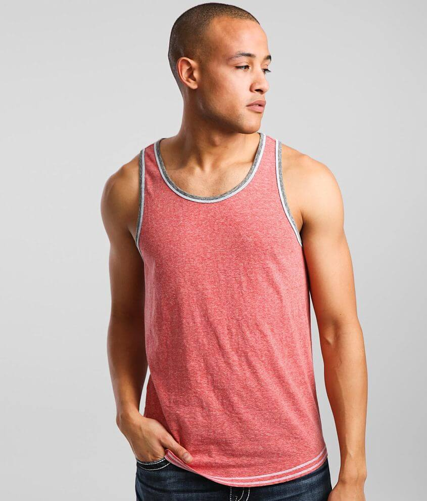 BKE Striped Tank Top front view