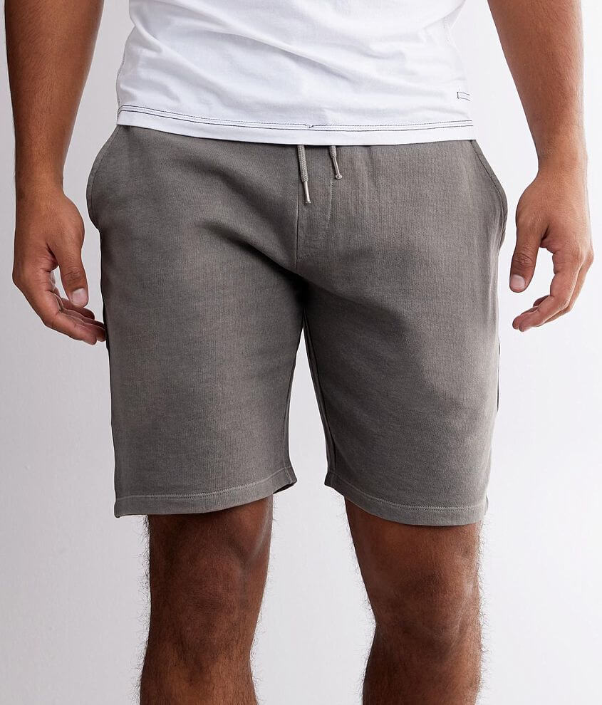 BKE Pigment Dyed Knit Short front view