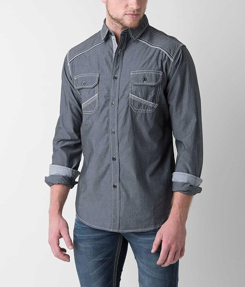 BKE Weatherby Shirt front view