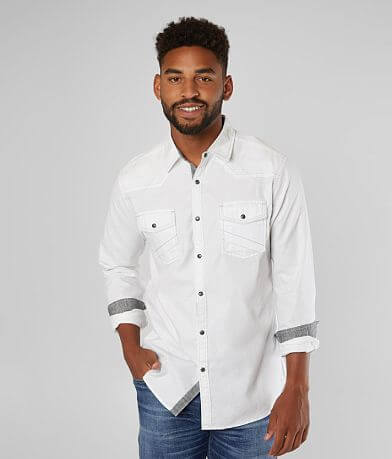 BKE Textured Athletic Shirt