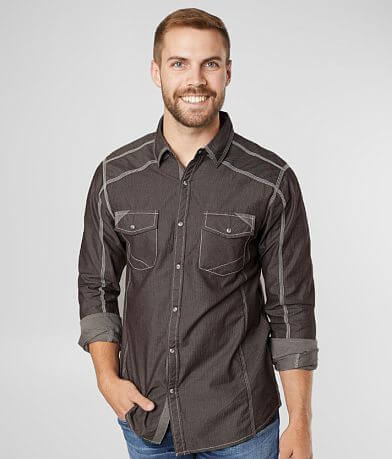 BKE Tonal Striped Standard Shirt