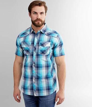 BKE Plaid Standard Shirt