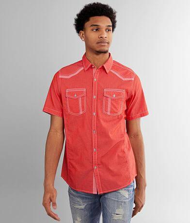 BKE Tonal Striped Standard Shirt